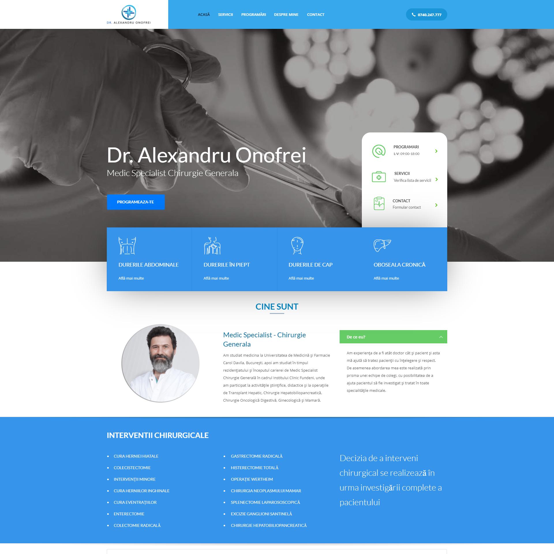 Doctor Alexandru Onofrei